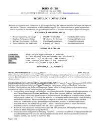 Consultant Resume Template 8 Best Best Consultant Resume Templates