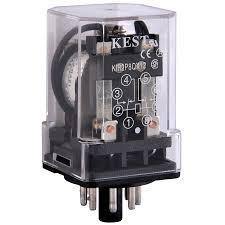 8 pin dpdt relay wiring diagram golkit com Pin Relay Wiring Diagram kest kir2p8qx12 12 vdc 10a dpdt 8 pin octal power relay 6 pin relay wiring diagram