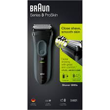 Braun Series 3 Proskin 3000s Rechargeable Electric Foil