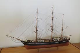 """Model of Barque """"HARRIET McGREGOR"""" Built in Hobart.Sailed London ..."""