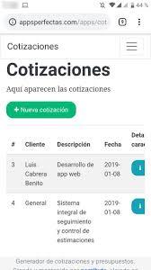Presentando Un Sistema Web Para Hacer Cotizaciones Y