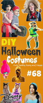 #94 DIY Halloween Costumes: Surprisingly Cute, Scary And Creepy Costumes