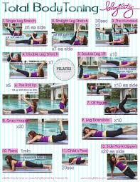 Toning Workout Lower Body Toning Workout