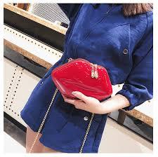 <b>TOYOOSKY</b> 2018 Women Red Lips Clutch Bag High Quality Ladies ...
