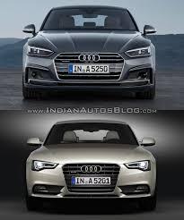 2017 Audi A5 Sportback vs. 2012 Audi A5 Sportback front - Indian ...