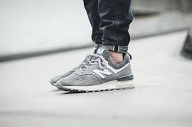 new balance grey. new balance - ms574bg (grey) 583521-60-12 grey