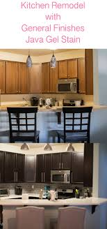 Java Stain Kitchen Cabinets Kitchen Remodel With General Finishes Java Gel Stain Stains