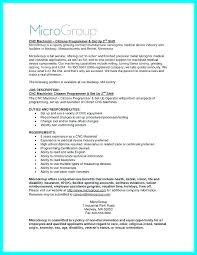 Resume Set Up Interesting Sample Resume Machinist Operator Example Best Ideas Of Samples R
