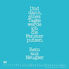 Putzmuffel Kalender 2020 Witzige Sprüche Von Funi Smart Art
