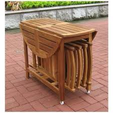 medium size of small wooden outdoor folding table with outdoor wood folding table and chairs plus
