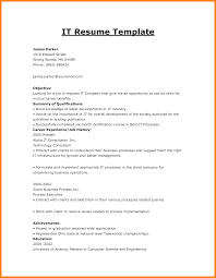 4 It Resumes Examples Forklift Resume