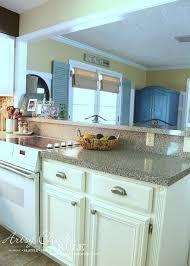 kitchen cabinet makeover with chalk paint easy makeover artsysrule