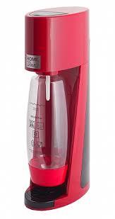 <b>Сифон</b> для газирования воды <b>HOME BAR Elixir</b> Turbo NG red