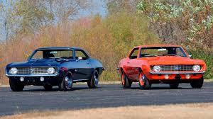 Mecum Set to Auction Two Beautifully Restored 1969 Camaro ZL1s ...