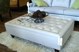 coffee table storage ottoman upholstered cocktail ottoman large size of leather ottoman coffee table storage ottoman