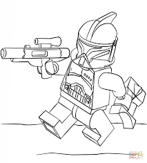 Lego Clone Trooper Coloring Page Free Printable Coloring Pages