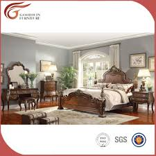 Malaysian Bedroom Furniture Wholesale Solid Wood Malaysia Antique Luxury Bedroom Furniture