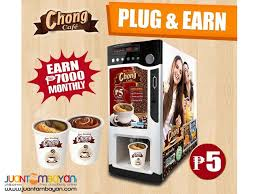 Coffee Vending Machine Franchise Philippines Beauteous Chong Cafe Coffee Vendo Business Package Manila Chong Cafe Vendo