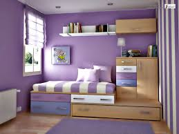 Painting Small Bedroom Small Bedroom Colors And Designs With Cute Purple Wall Painting