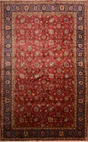 persian tabriz red rectangle 11x16 ft wool carpet 76244 tabriz area rug