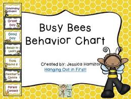 Busy Bees Classroom Theme Behavior Clip Chart Behavior
