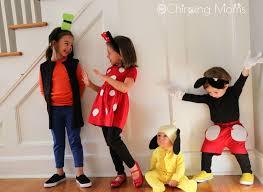 diy minnie mickey pluto goofy costumes