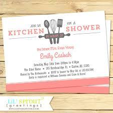 Kitchen Bridal Shower Kitchen Bridal Shower Ideas Wedding Invitation Sample