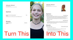 How To Make A Resume For A Teenager First Job How To Write A Resume For Teens Make First Job High School 30