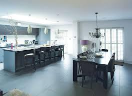 modern kitchen garage conversion