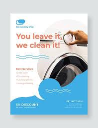 Handbill Template 12 Laundry Flyer Designs Templates Psd Ai Free