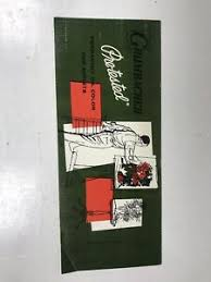 Details About Grumbacher Oil Color Paint Brochure Advertising Chart Vintage Pamphlet