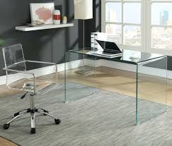 contemporary glass desk contemporary glass corner desk