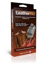 amazon com leathernu complete leather color restoration repair