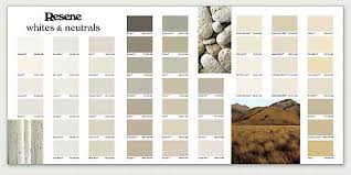 Solver Paints Colour Chart Online The New Resene Whites Neutrals Flat Chart