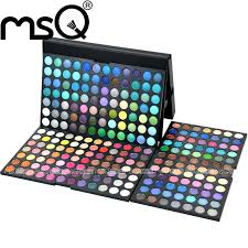 aliexpress msq professional 252 colors eyeshadow palette full color cosmetic make up palette whole for fashion from reliable palette lip