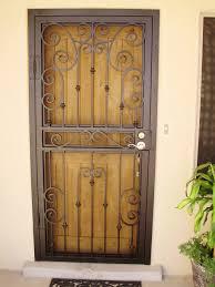front door screensPictures of screened entryway  Security screen door  Curb Appeal