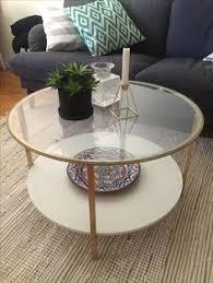 ikea hack diy jag sprayade stommen guldig på ikea bordet vittsjö och det blev coffee table hacksikea