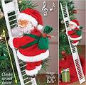 VARWANEO Electric Climbing Ladder Santa Claus ... - Amazon.com