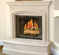 Cast Stone Fireplaces Mantels Hearths And Accessories  Chateau Cast Fireplaces