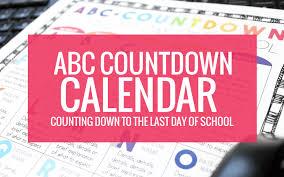 How To Make A School Calendar Make Your Own Abc Countdown Calendar Kindergartenworks
