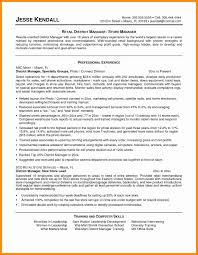 19 Retail Store Manager Resume Example | Melvillehighschool