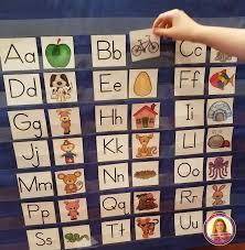 Alphabet Beginning Sounds Pocket Chart Literacy Center