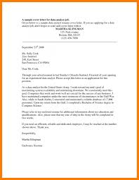 Financial Analyst Cover Letter Finance Professional Excellent