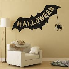 chic creative bat personalized wall stickers for decoration decor