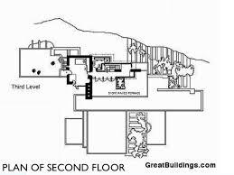 14 Best Falling Water Images On Pinterest  Falling Waters Falling Water Floor Plans
