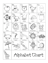 Alphabet Chart Pdf Writing Folders Alphabet Charts