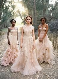 peach wedding dress. 15 Sweet Peach Blush Wedding Dresses Deer Pearl Flowers