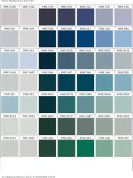 Aqua Color Chart Color Chart Tuoder Promotional Products