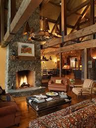 rustic living room design. 46 Stunning Rustic Living Room Design Ideas V
