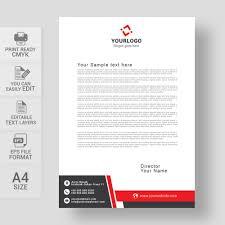 Corporate Letterhead Design Eps Free Download Wisxi Com